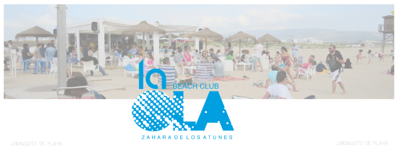 Actuación de Junior Miguez en el chiringuito La Ola Beach