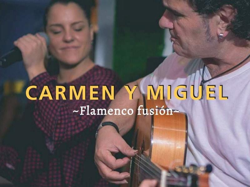 Actuación de Carmen y Miguel en TunAtun El Palmar