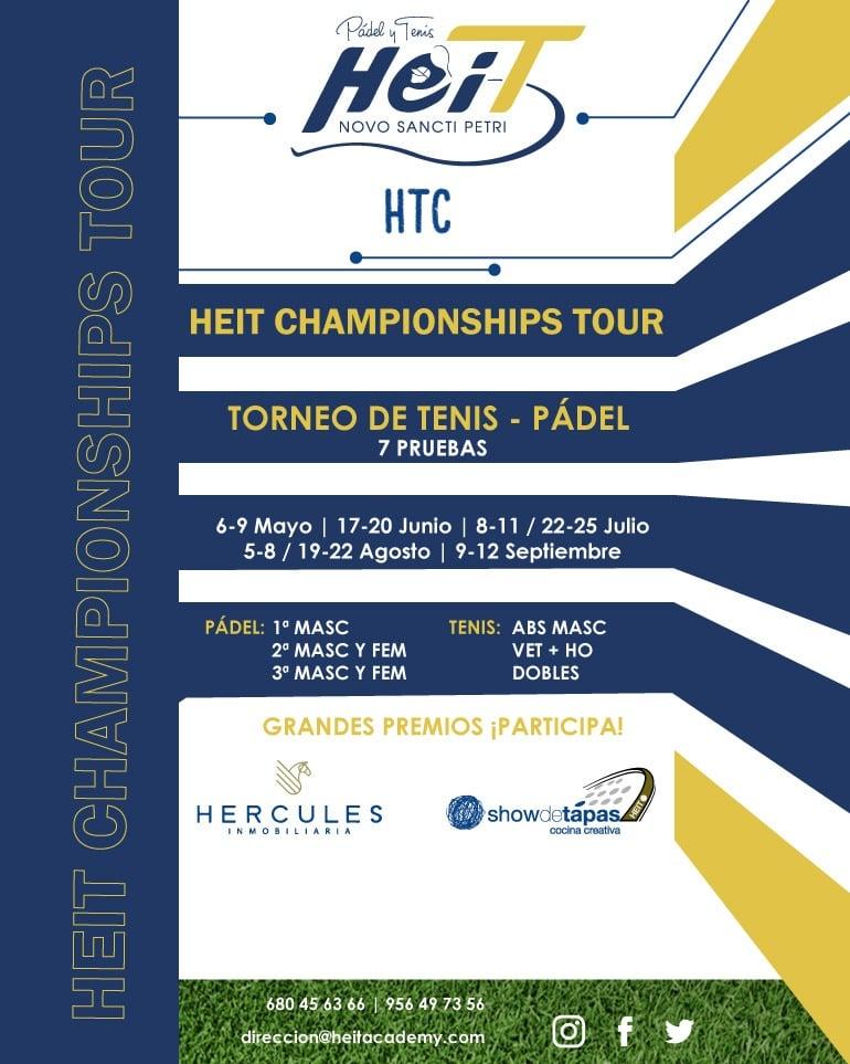 Campeonato de Pádel y Tenis - Heit Championships Tour 2021 en Heit Novo Sancti Petri