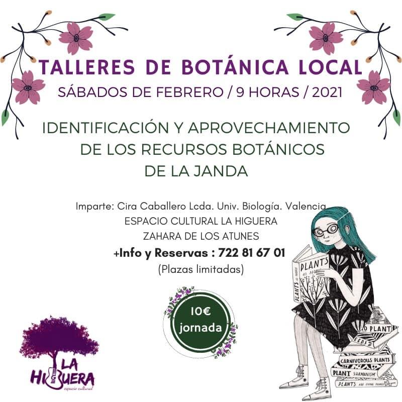 Taller de Botánica Local - plantas comestibles y medicinales con La Higuera