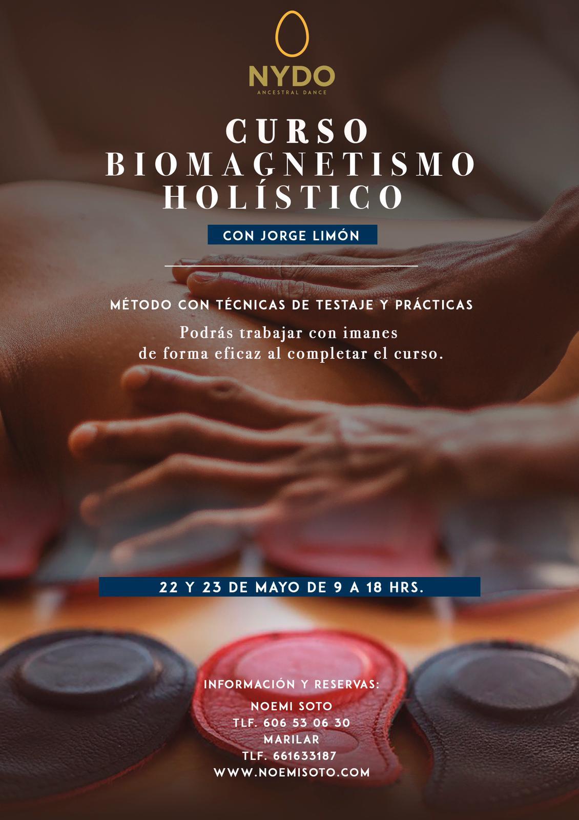 Curso de Biomagnetismo Holístico con Jorge Limón en Nydo