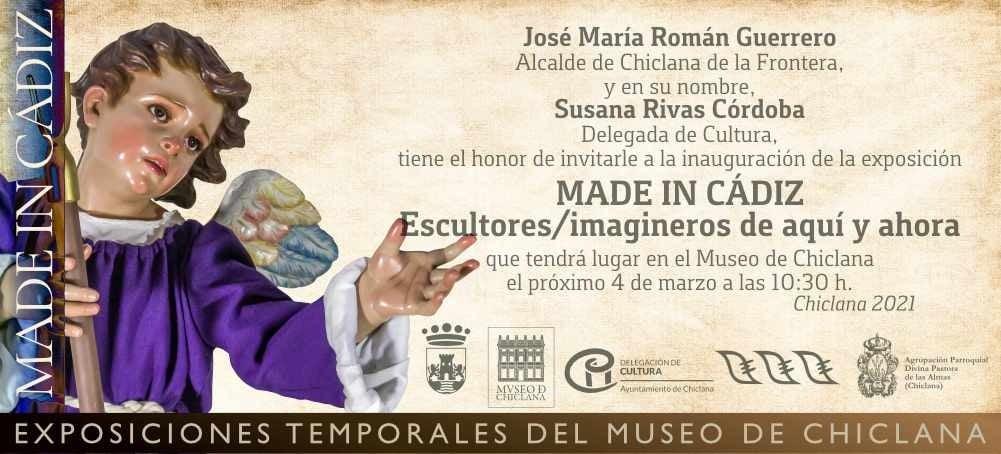Made in Cádiz - Exposición de Escultura e Imaginería en el Museo de Chiclana