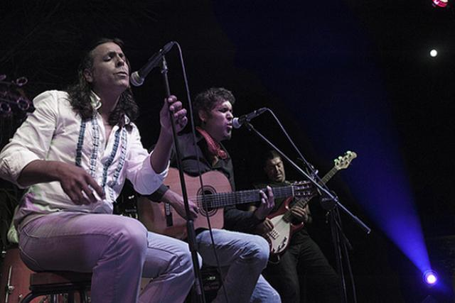Actuación de Navajita Plateá en Trocadero Festival Flamenco Sotogrande