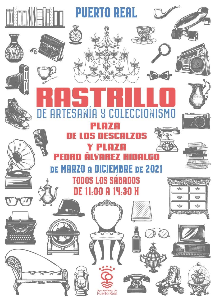 Rastrillo de Artesanía y Coleccionismo en Puerto Real