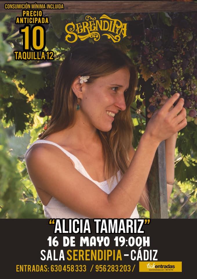Actuación Alicia Tamariz en Serendipia