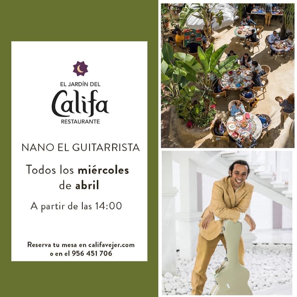 Actuación de Nano de Marbella en El Jardín del Califa