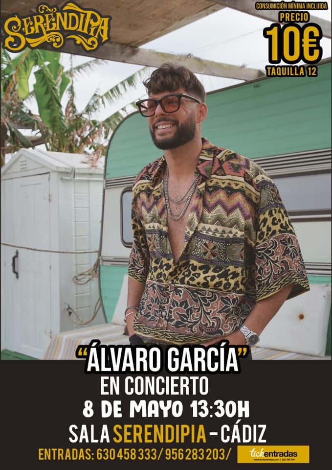 Concierto de Álvaro García en Serendipia