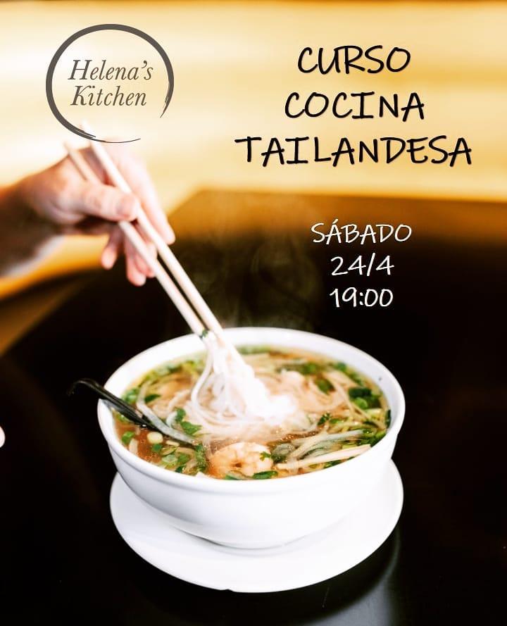 Curso de Cocina Tailandesa en Helena's Kitchen