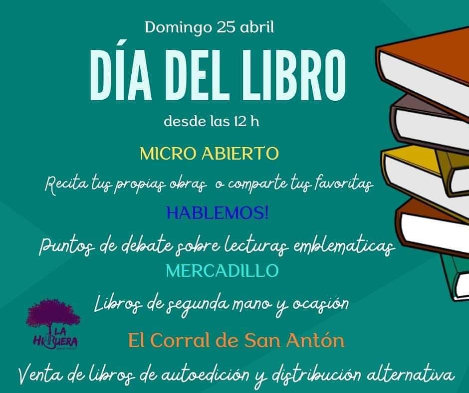 Dia del Libro en el Espacio Cultural La Higuera