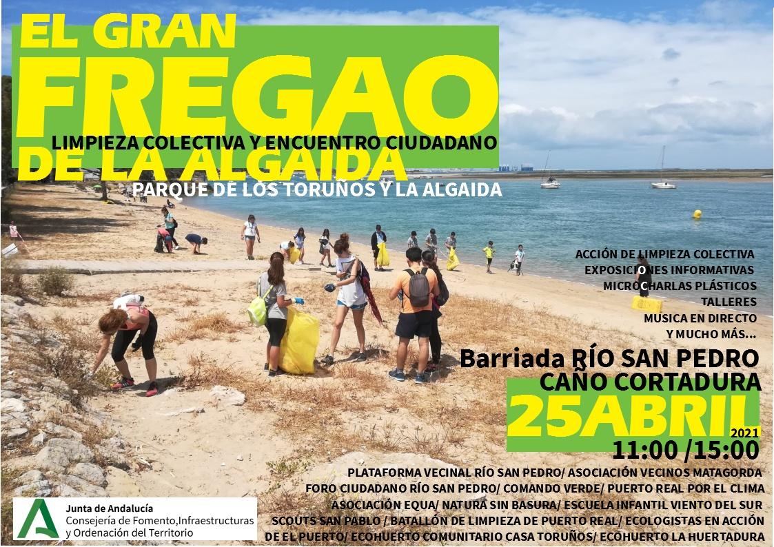 El Gran Fregao de la Algaida - Limpieza colectiva y encuentro ciudadano en Los Toruños - La Algaida