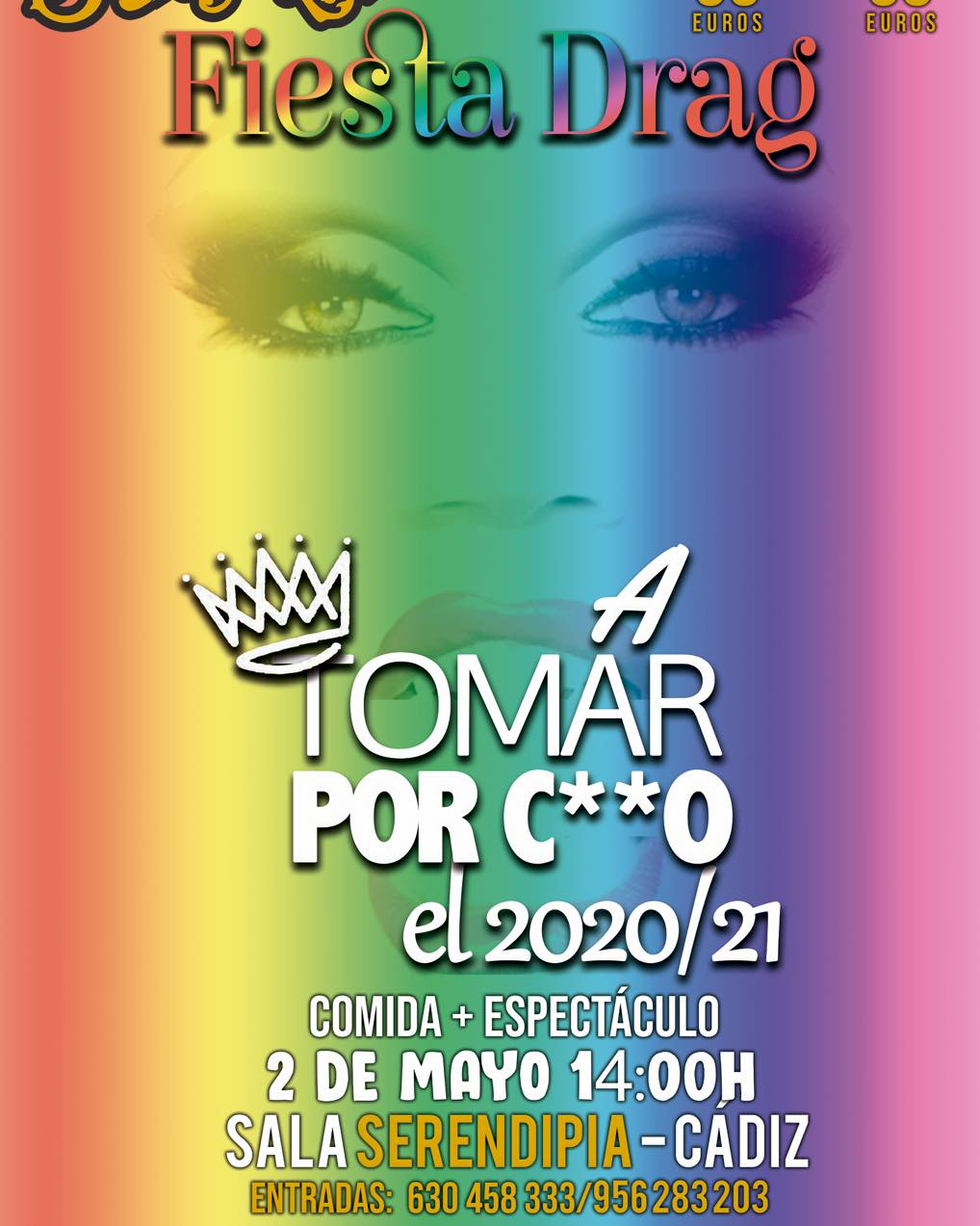 Fiesta Drag Queen - Comida + Espectáculo en Serendipia