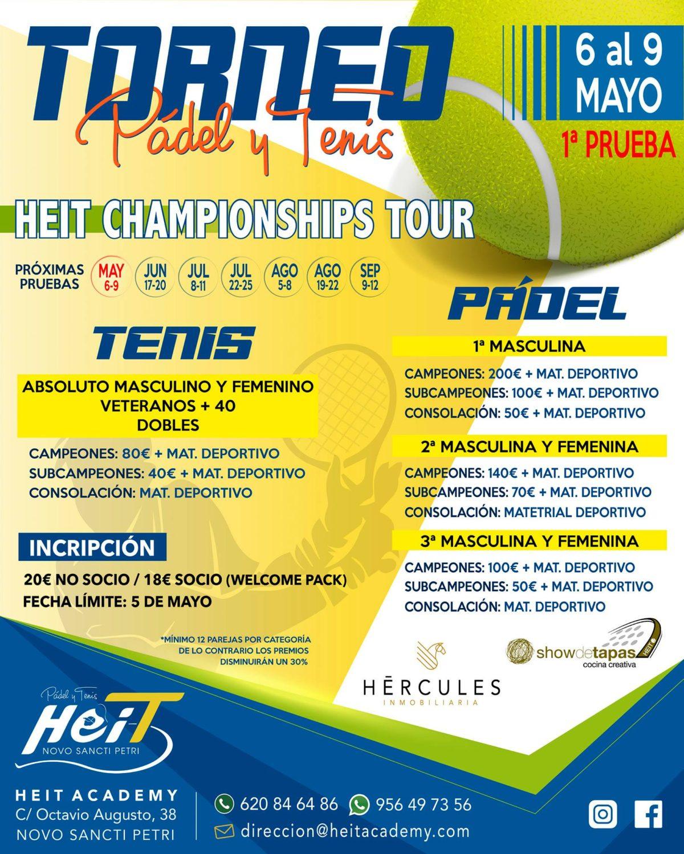 Heit Championships Tour en HEIT Pádel y Tenis