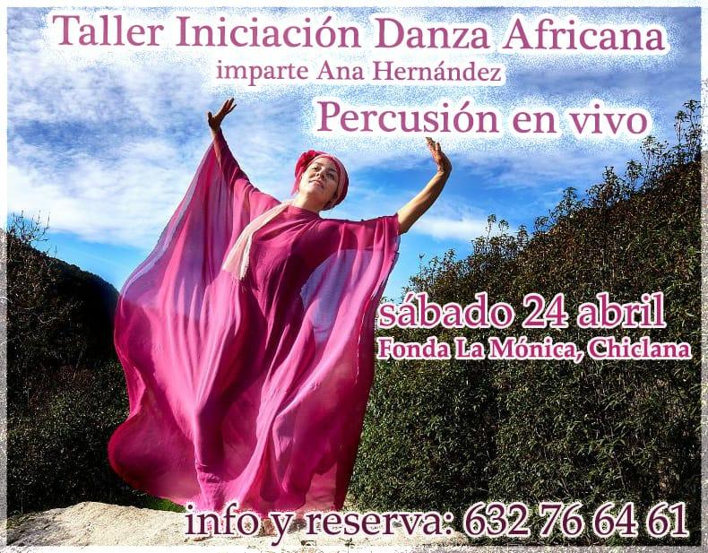 Taller Iniciación Danza Africana en Fonda La Monica