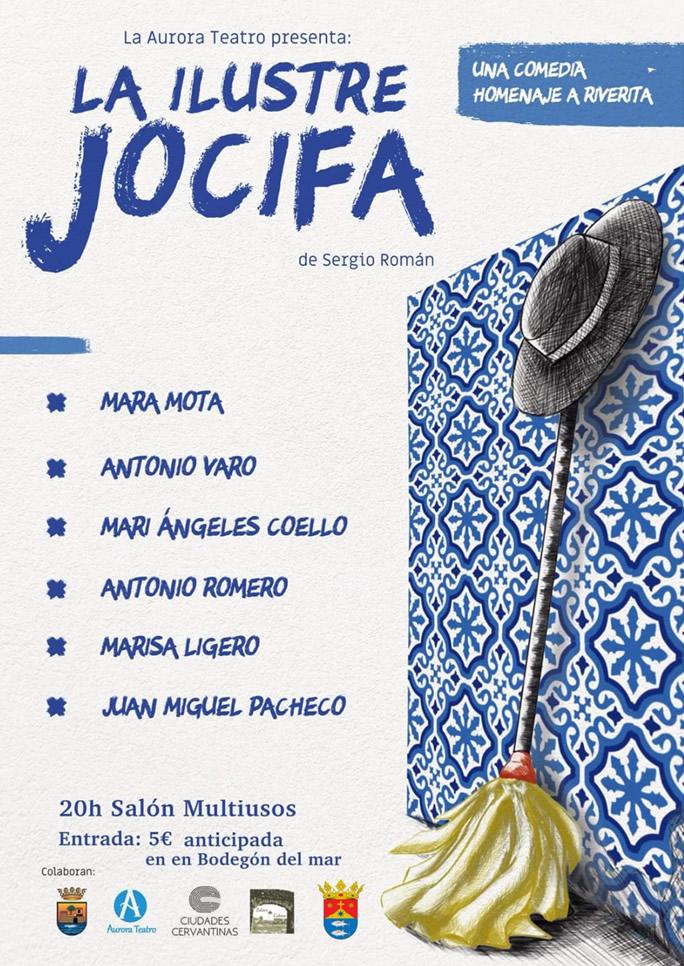Teatro 'La Ilustre Jocifa' de Sergio Román en el Salón Multiusos