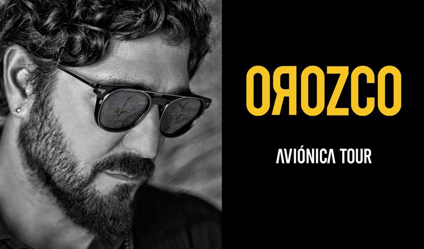Concierto de Antonio Orozco en Cabaret Festival - Mairena del Aljarafe, Sevilla