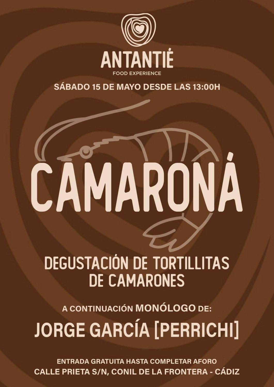 Degustación de 'Tortillitas' y Monologo de Jorge García 'Perrichi' en Hotel Antantié