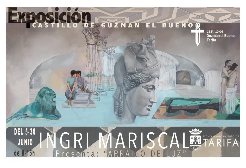 Exposición 'Arraigo de luz' de Ingri Mariscal en el Castillo Guzmán el Bueno