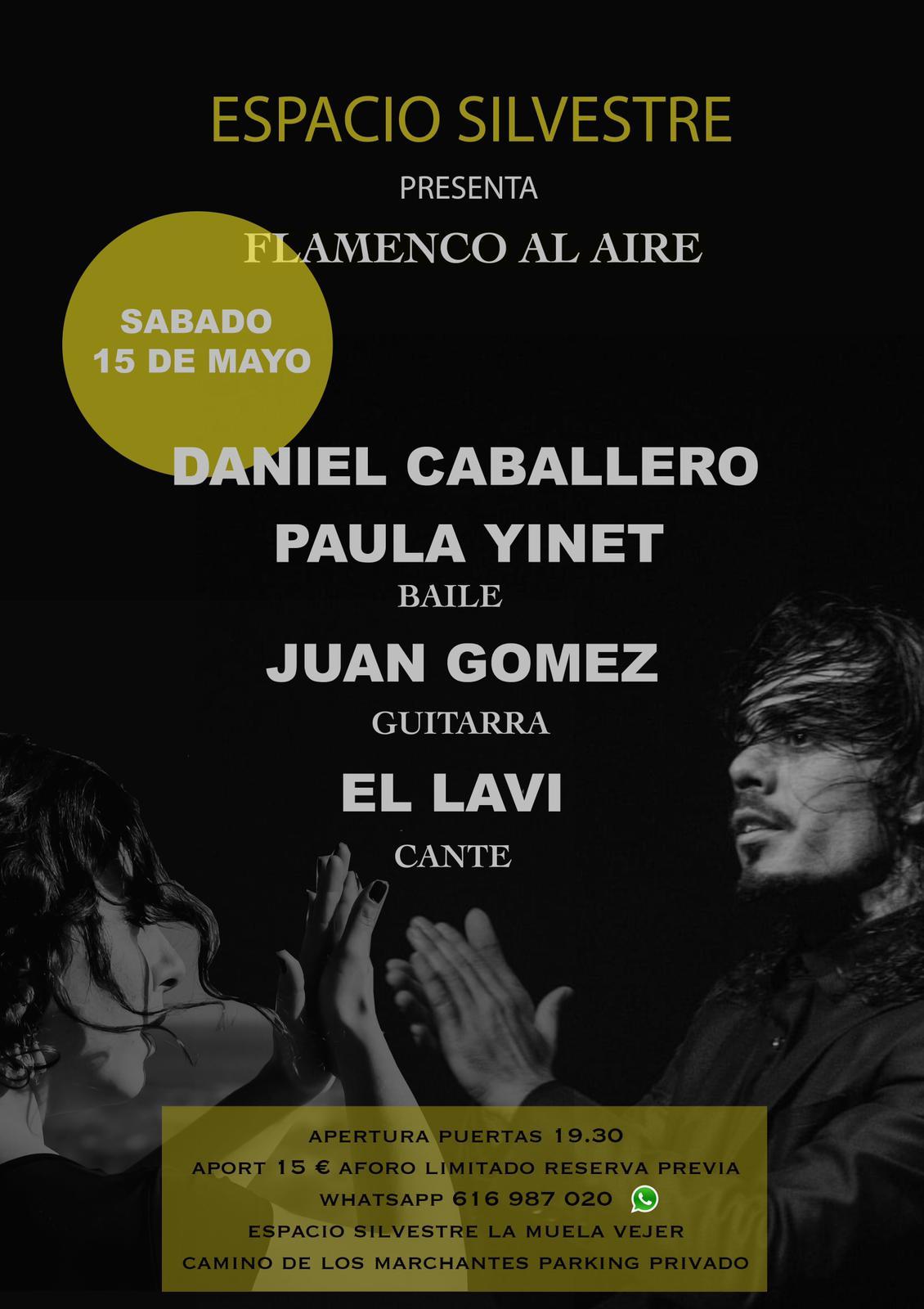 Flamenco al Aire en Espacio Silvestre - La Muela