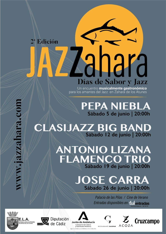 JAZZahara 2021 - Festival y Feria del Jazz en Zahara de los Atunes
