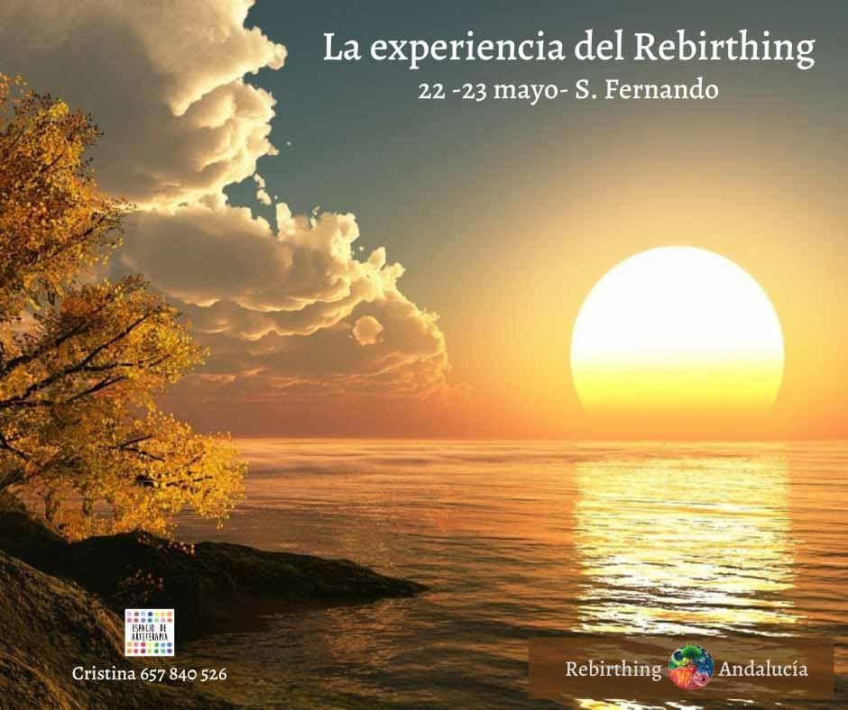 La experiencia del Rebirthing 'Renacimiento' en Espacio de Arteterapia