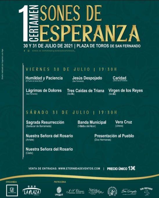 'Sones de Esperanza' en la Playa de Toros de San Fernando