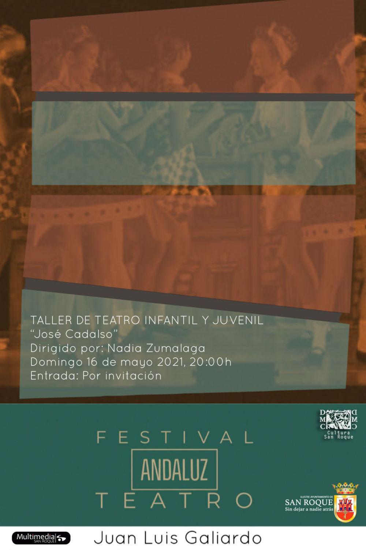 Taller de Teatro Cultúrate 'Jose Cadalso' - II Festival de Teatro Andaluz Juan Luis Galiardo