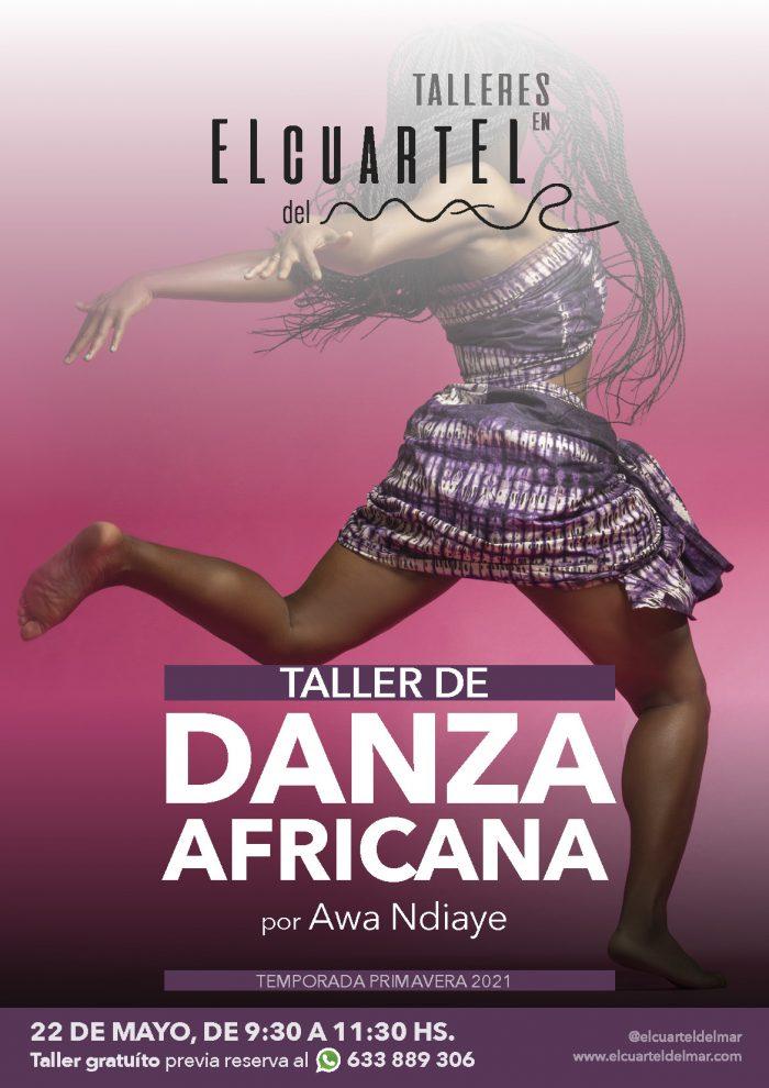 Taller de danza africana con Awa Ndiaye en El Cuartel del Mar