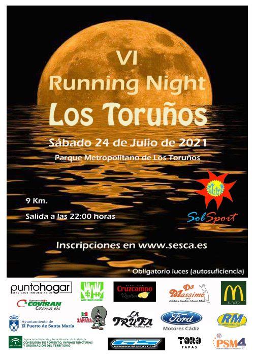 VI Running Night - Los Toruños
