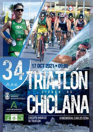 XXXIV Triatlón de Ciudad de Chiclana 2021