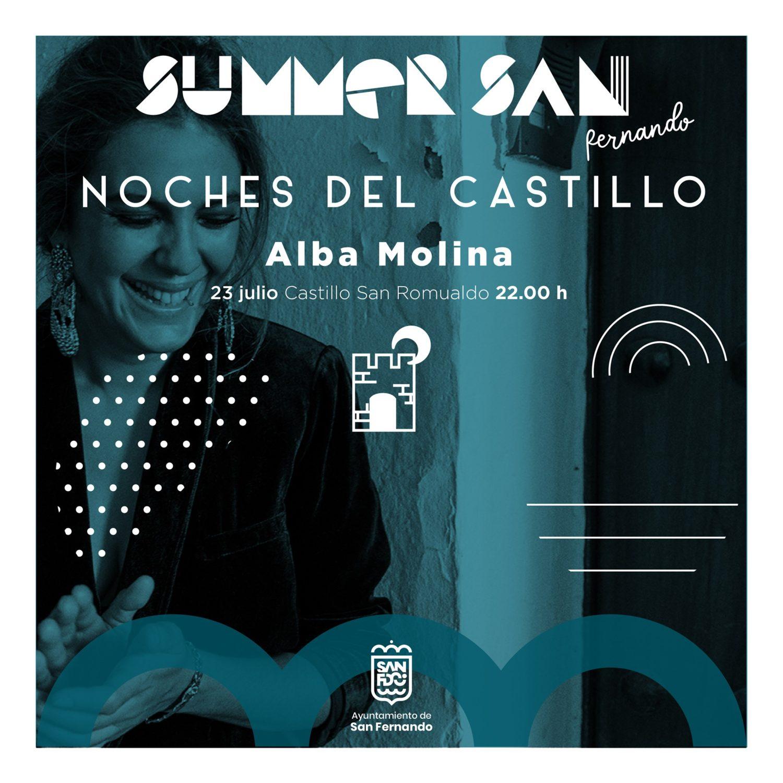 Actuación de Alba Molina en Summer San Fernando