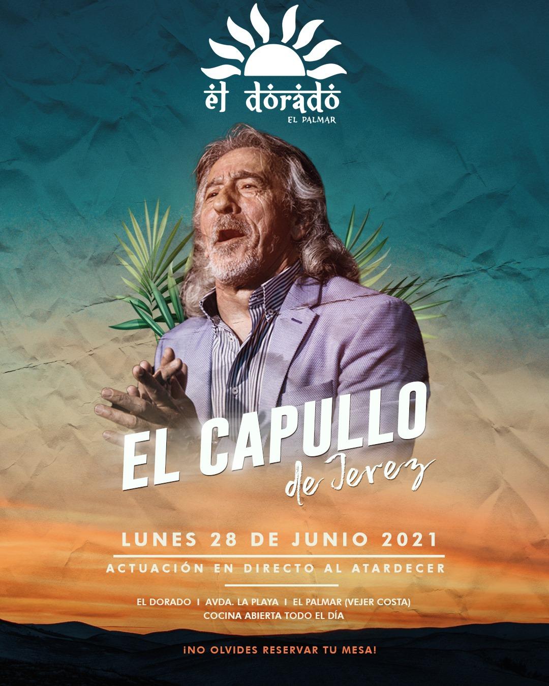 Actuación de El Capullo de Jerez en El Dorado El Palmar