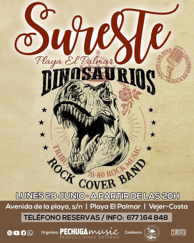 Actuación de Los Dinosaurios en Sureste El Palmar