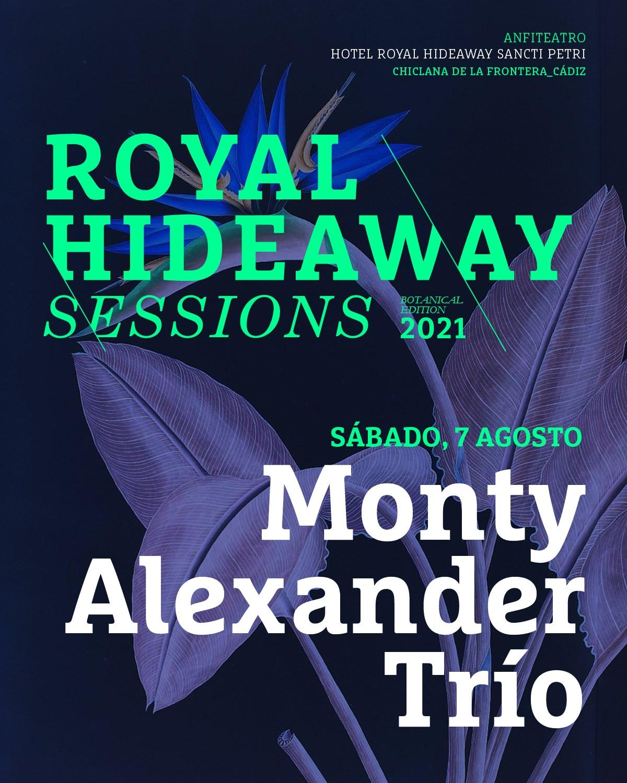 Actuación de Monty Alexander Trío en Royal Hideaway Sessions 2021