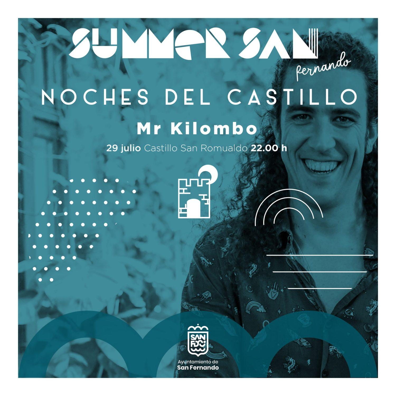 Actuación de Mr Kilombo en Summer San Fernando