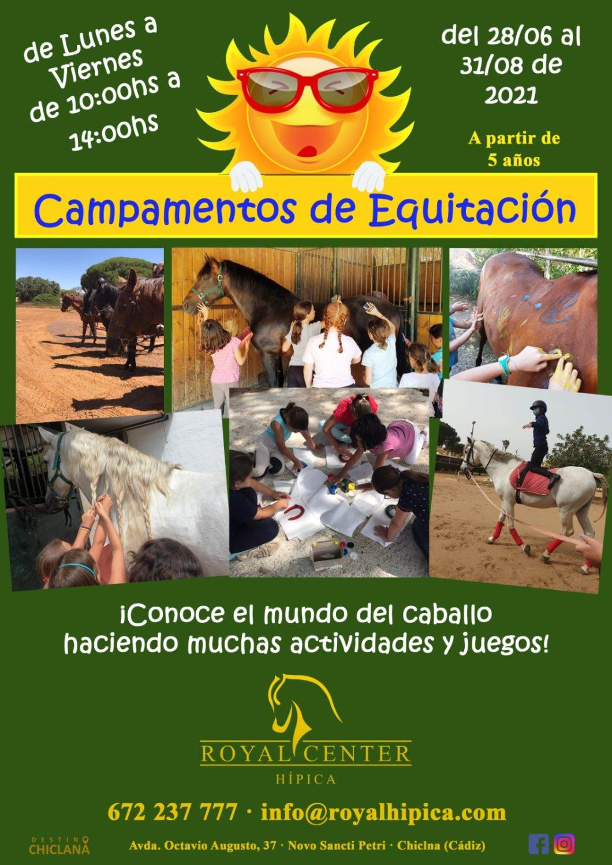 Campamentos de Equitación Infantil en Royal Center Hipica – Sancti Petri
