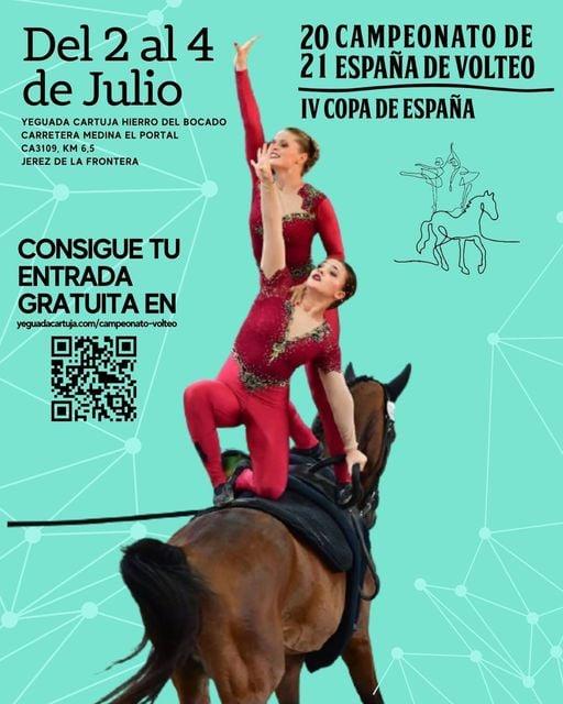 Campeonato de España de Volteo 2021 en Yeguada Cartuja