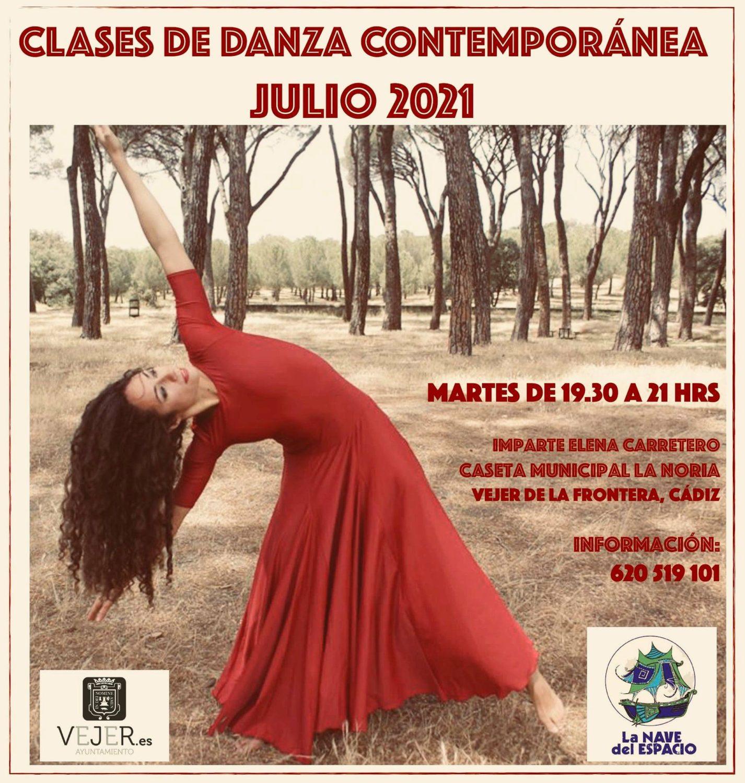 Clases de Danza Contemporánea en La Nave del Espacio