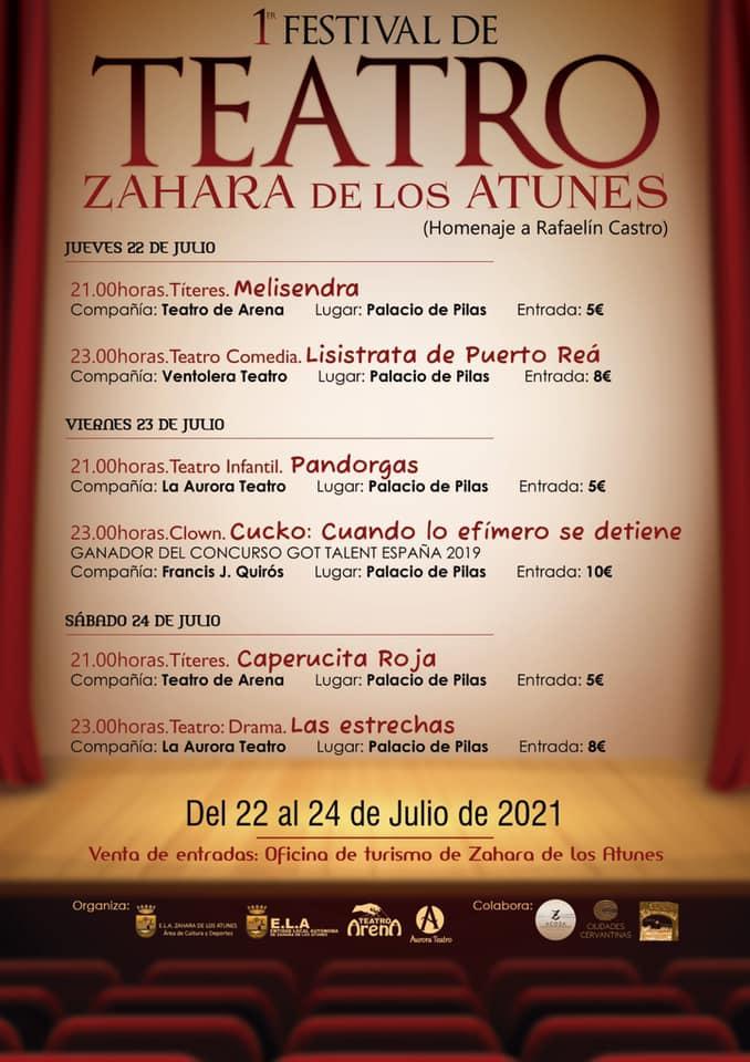 I Festival de teatro de Zahara de los Atunes