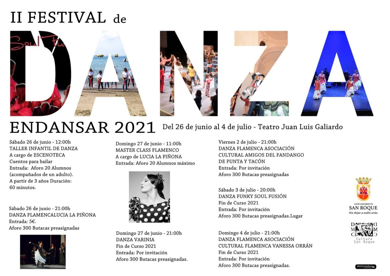 II Festival de Danza de San Roque - Endansar 2021