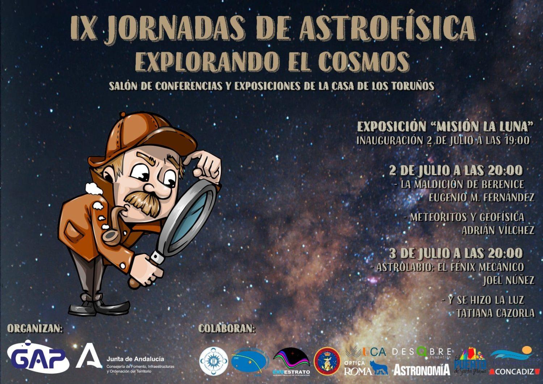 IX Jornadas de Astrofísica 'Explorando el Cosmos' en la casa de los Toruños