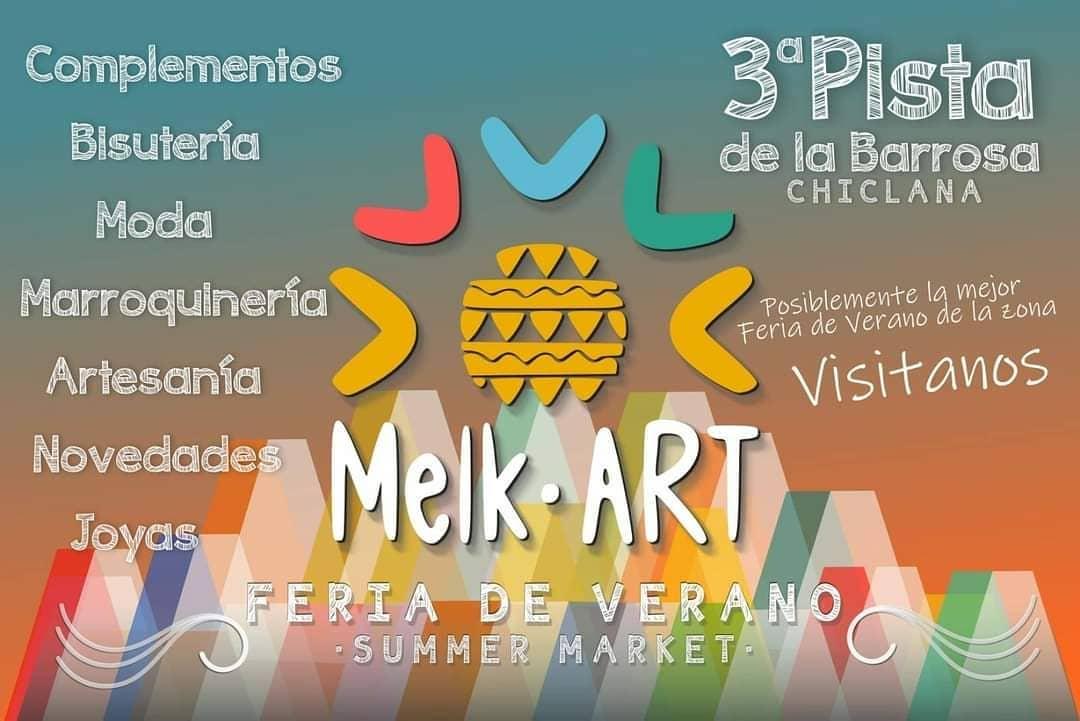 Mercado de Verano Melk Art en La Barrosa