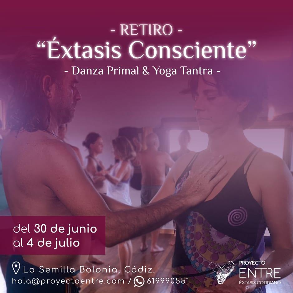 Retiro 'Éxtasis consciente' - Danza Primal y Yoga Tantra en Bolonia, Cádiz