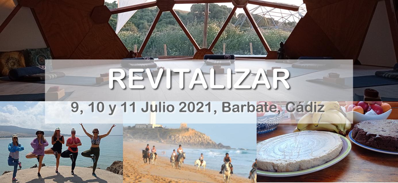 Revitalizar - Fin de semana de Yoga y conexión con la naturaleza en Barbate, Cádiz