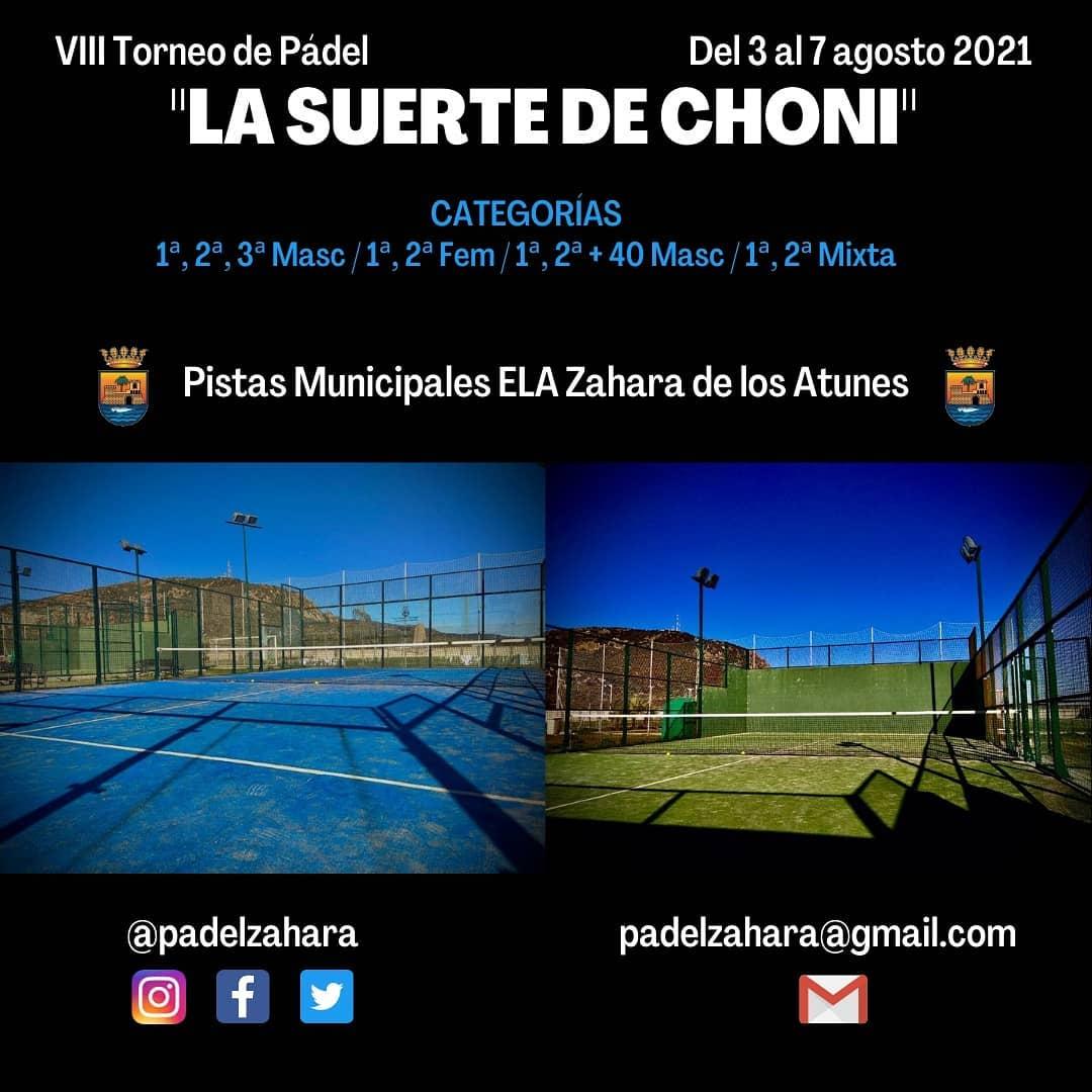 VIII Torneo de Padel 'La Suerte de Choni' 2021