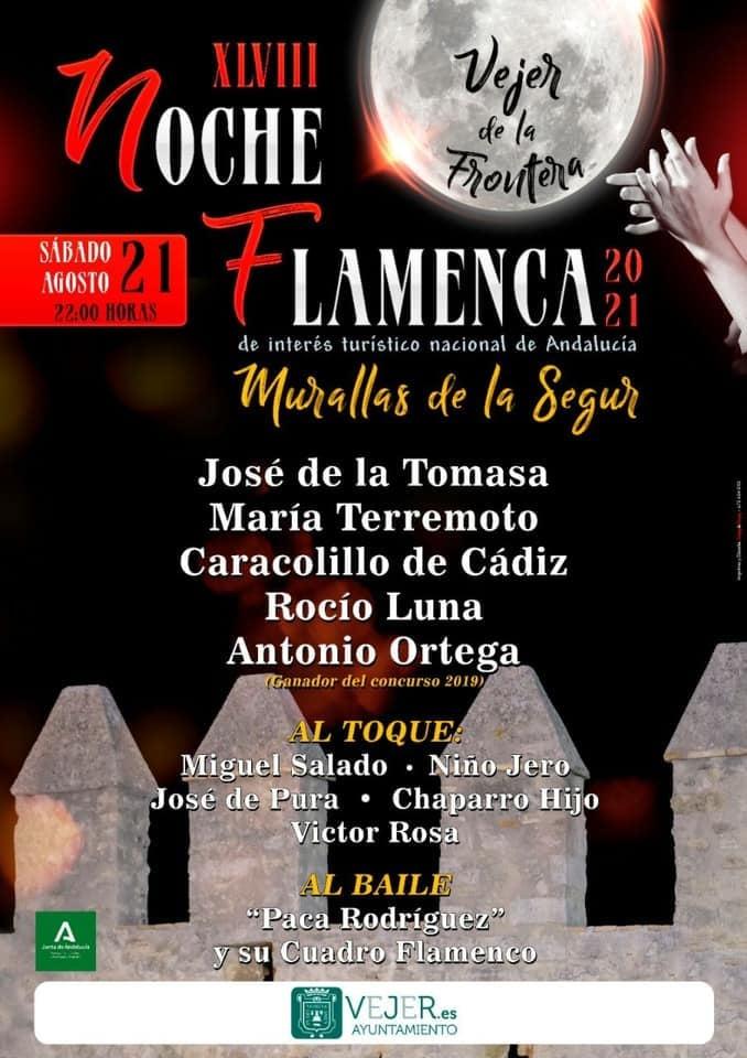 XLVIII Noche Flamenca en las Murallas de La Segur