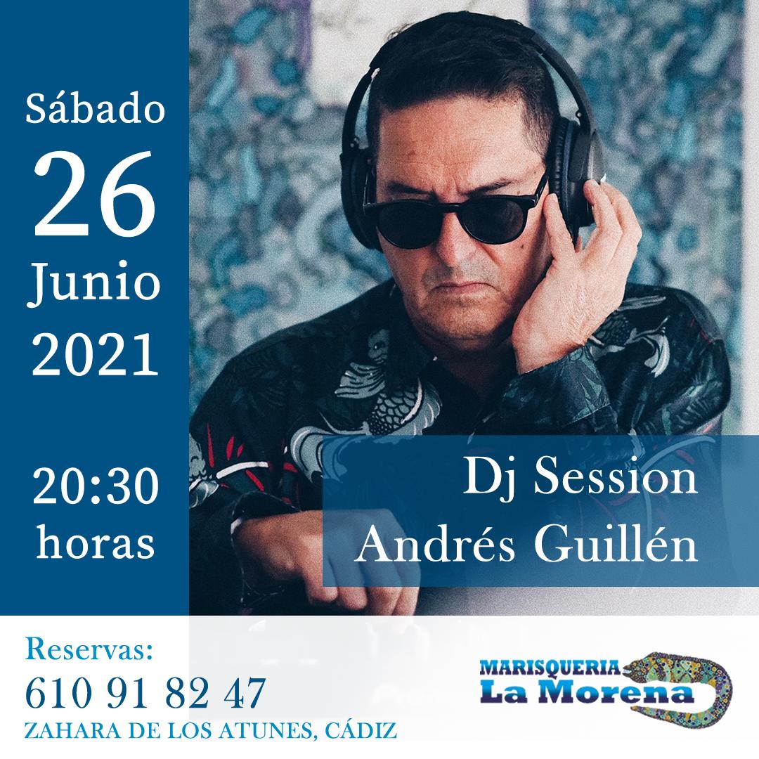 Dj session - Andrés Guillén en Marisqueria La Morena