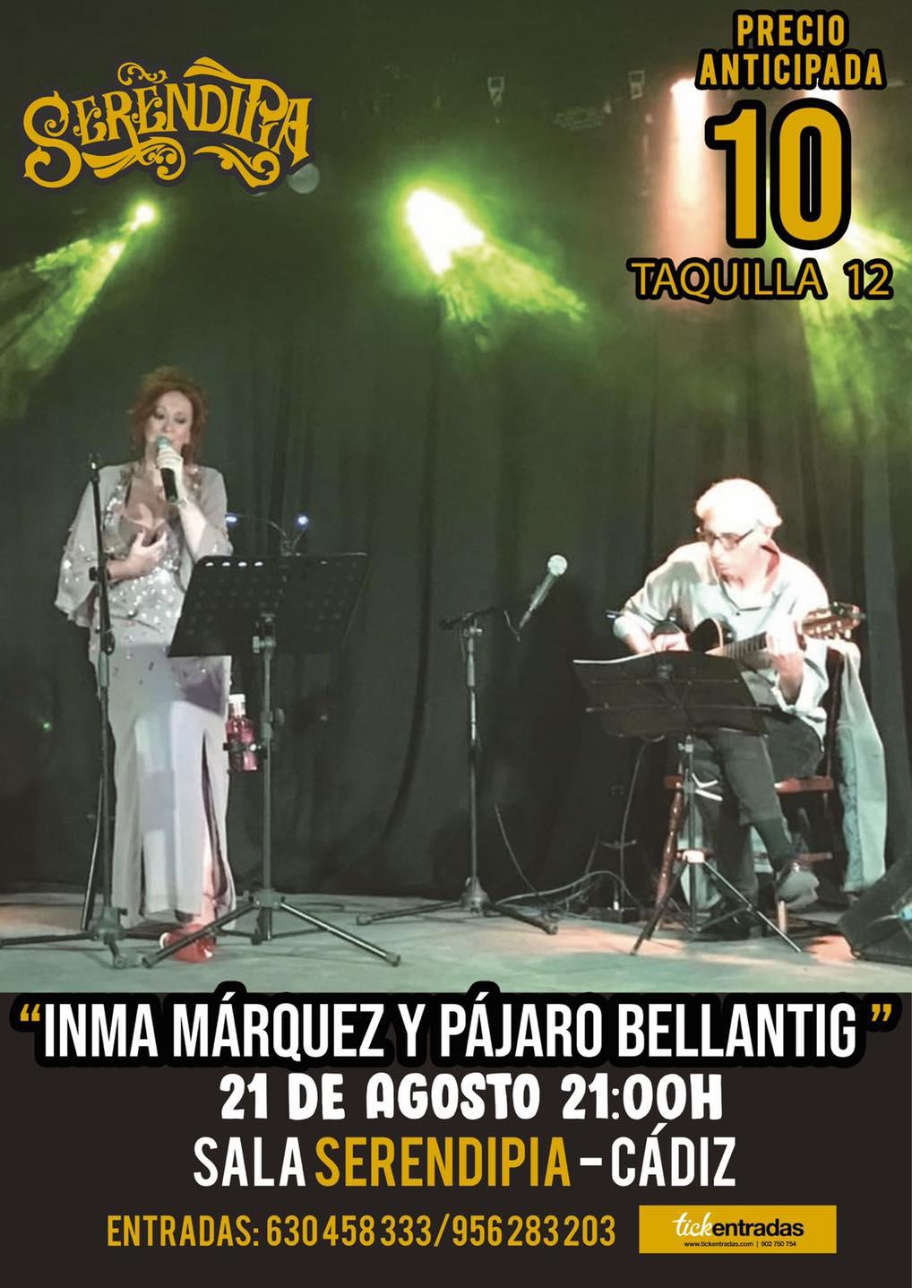 Actuación de Inma Márquez y Pájaro Bellantig