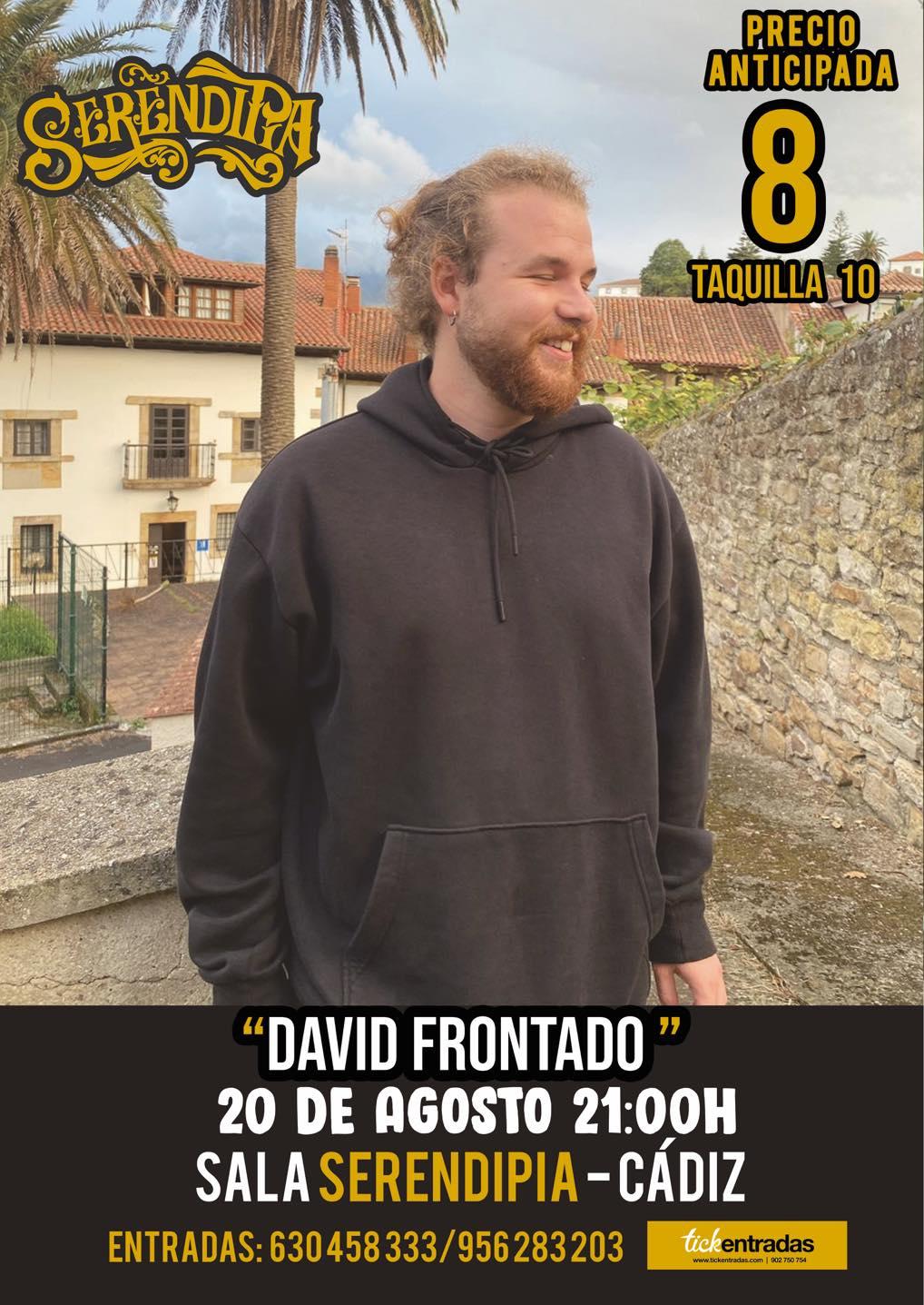 Concierto de David Frontado en Serendipia