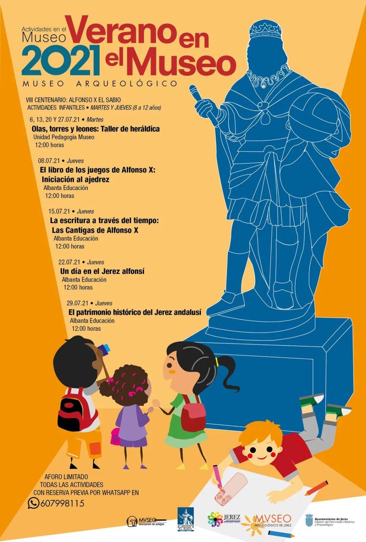 Actividades Infantiles  - Verano 2021 en el Museo Arqueológico