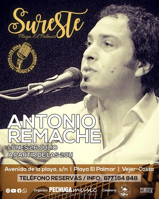 Actuación de Antonio Remache en Sureste El Palmar